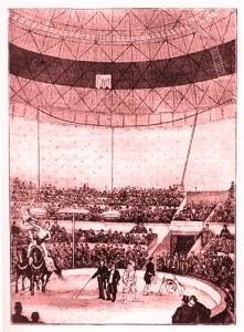 Cirque de Copenhague - intérieur