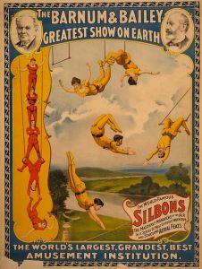 Les Silbon au trapèze volant