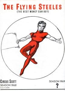 Tony Steel - trapèze volant