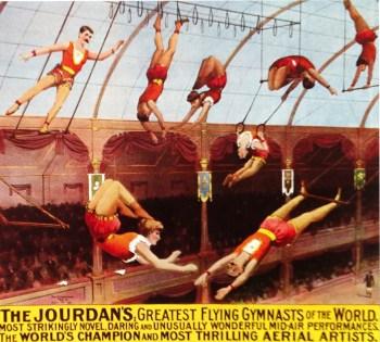 Les Jordan au trapèze volant
