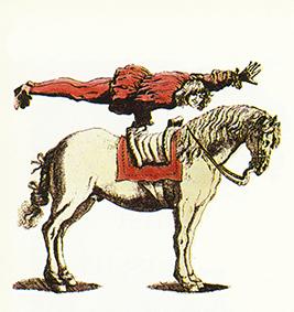 Voltigeurs équestres dans le Saint Empire germanique