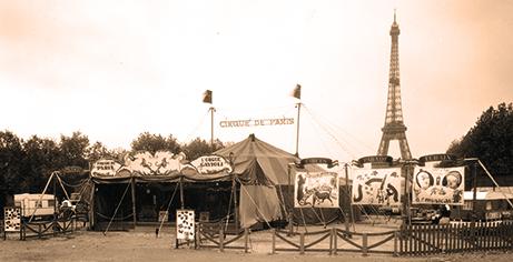 Le Cirque de Paris au Champ de Mars - Francis Schoeller