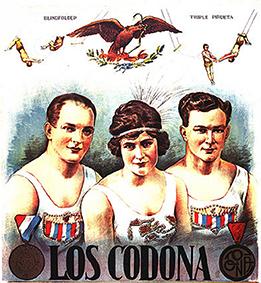 Codona, artistes mythiques du trapèze volant