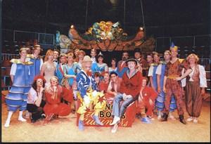La troupe du Cirque de Paris - Franis Schoeller