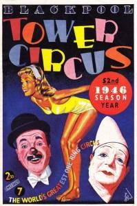 Programme du Tower Circus en 1946 - Charlie Cairoli