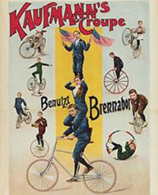 Cyclistes au Cirque