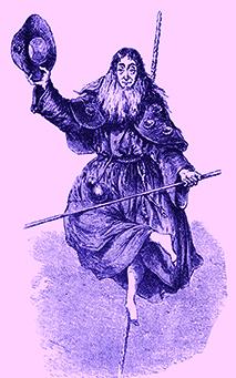 Madame Saqui costumée