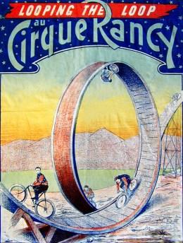 Barber au Cirque Rancy - cyclistes