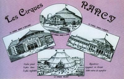 Théodore Rancy et ses cirques