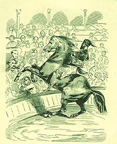 Théodore Rancy et Djali
