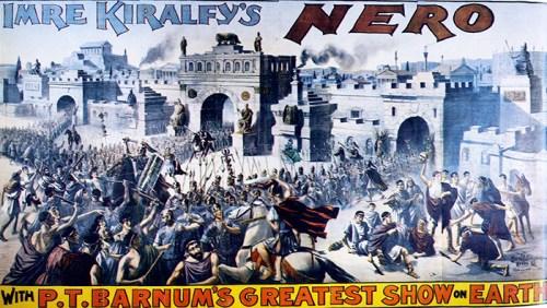 La pantomime Nero - Phineas T. Barnum