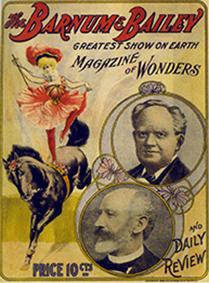 Phineas T. Barnum et ses cirques