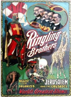 La pantomime Jerusalem - Année 1903