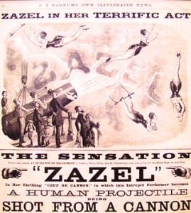 Zazel - Phineas T. Barnum