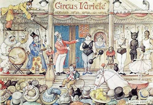 La parade du cirque forain - parades