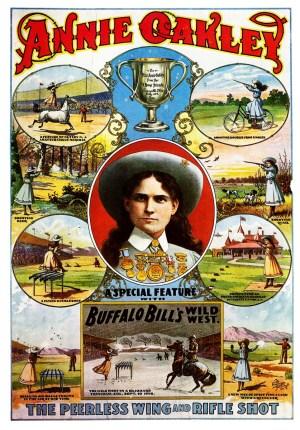 Affiche d'Annie Oakley - Oakley
