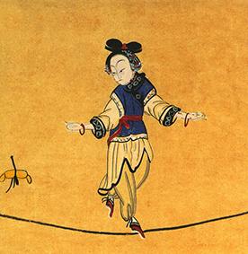 Fildeféristes au Cirque