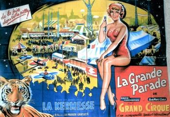 Affiche de La Grande Parade - parades