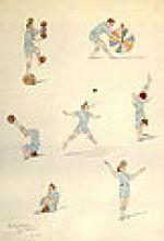 jongleries de Rastelli par les demoiselles Vesque