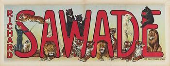 Richard Sawade - affiche avec son nom