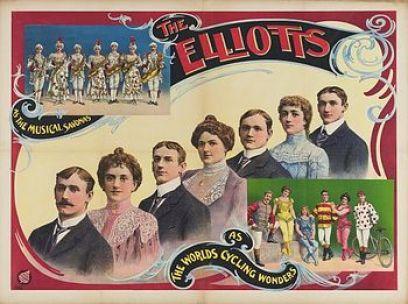 Les Elliot - Année 1904 au Cirque