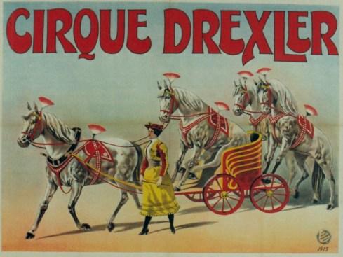Affiche Drexler - Année 1904 au Cirque