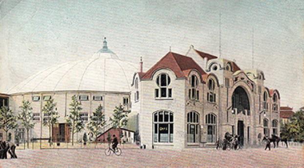 Cirque de Scheveningen - Alb. Schumann - CPA