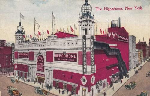 L'Hippodrome de New York - Année 1905
