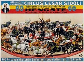 Cirque Sidoli - Année 1905
