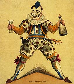 Joe Grimaldi, le père des clowns
