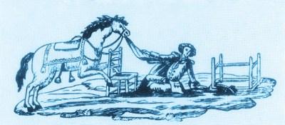 Le tailleur à cheval - 1768 au Cirque