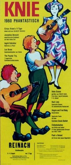 Rudi Llata - Knie 1960