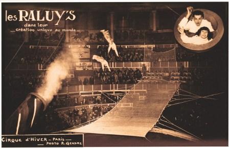 Les Raluy au Cirque d'Hiver - hommes projectiles