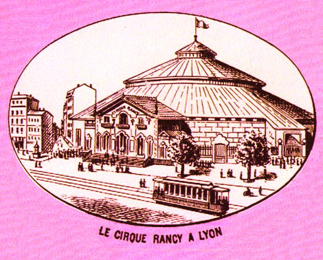 Le Cirque Rancy à Lyon - illustration