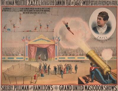 Zazel - femmes et hommes projectiles