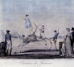 Au Carré Marigny par Carl Vernet - premier Cirque Olympique
