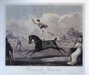 Lalanne au Carré Marigny par C. Vernet - Année 1801