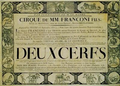 Franconi à Rouen - premier Cirque Olympique