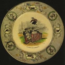 Auriol - Saut au-dessus des grenadiers - assiette