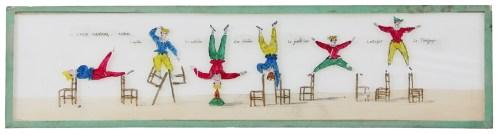 Auriol Acrobaties et équilibres - Plaques lumineuses