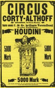 Houdini au cirque - illusionnistes