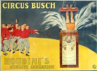 Houdini - Cirque Buch 1913