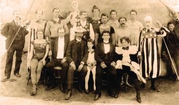 Welsch Bros Circus avec Houdini