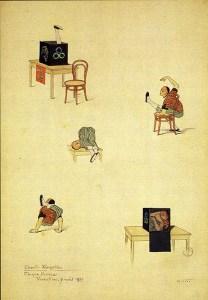 Chester Kingston par les demoiselles Vesque - contorsionnistes
