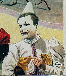 Giovanni Sarrasani clown dresseur