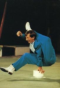 Victor Bagrov - contorsionnistes - photo Yvon Kervinio