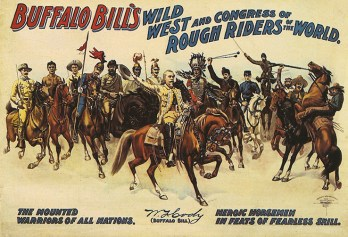 Buffalo Bill rough riders - Année 1906
