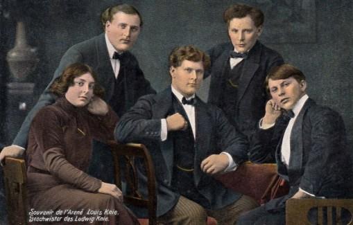 frères Knie - Nina, Rudolph II, Friedrich II, Charles II et Eugen Knie