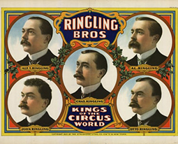 Année 1907 au Cirque