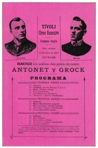 Antonet et Grock - Année 1907